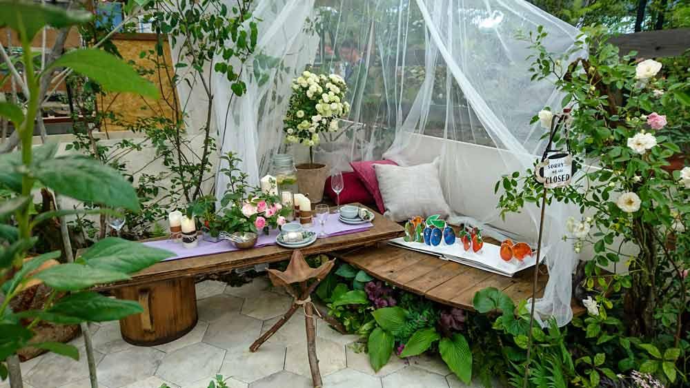 ガーデンパーティ バラ